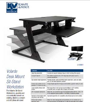 Volenta Sit Stand Work Stations Promotion