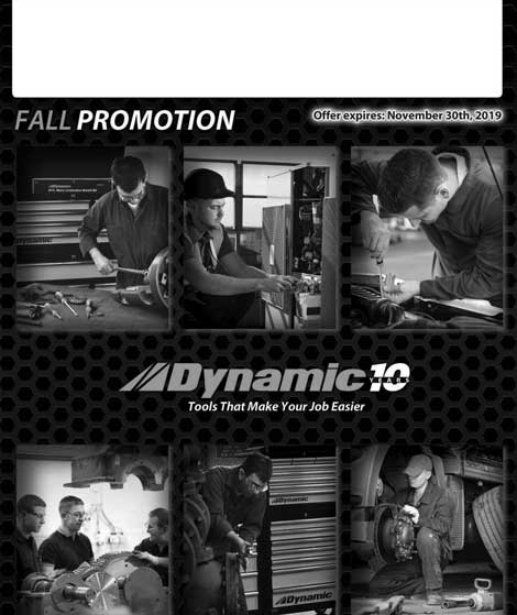 Dynamic Tools on Sale this Fall at Mill Supply